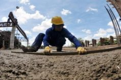 Valor do metro quadrado da construção civil variou 0,68%